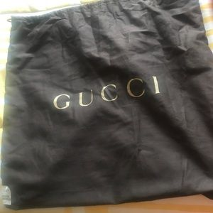 Handbags - Black Gucci hobo bag with protector